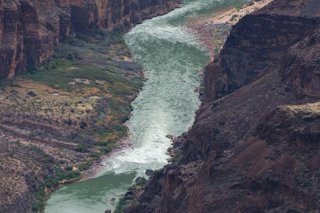 Colorado River, Lava Falls rapid - Toroweap Overlook ...
